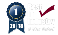 Best in Industry 5 Star Rated